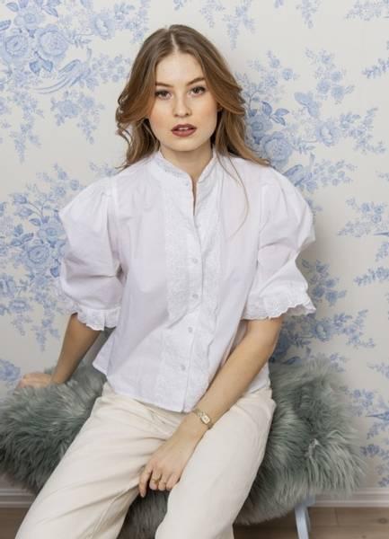 Bilde av MissMaya Natalie Shirt Pure White