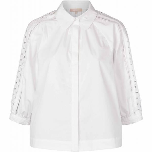 Bilde av Soft Rebels Pricilla 3/4 Shirt White