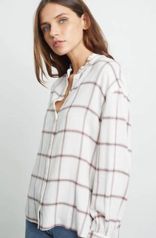 Bilde av Rails Andie Shirt White Rose Sapphire