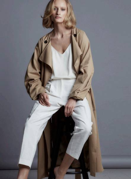 Bilde av One and Other Inez Coat Camel