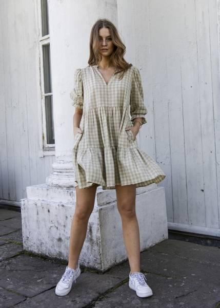 Bilde av MissMaya Sofie Mini Dress Sage