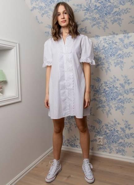 Bilde av MissMaya Ilse Dress Pure White