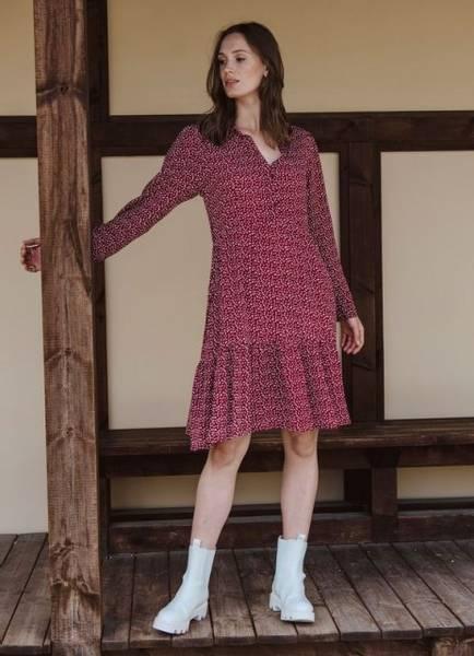 Bilde av MissMaya Peyton Dress Rubyred