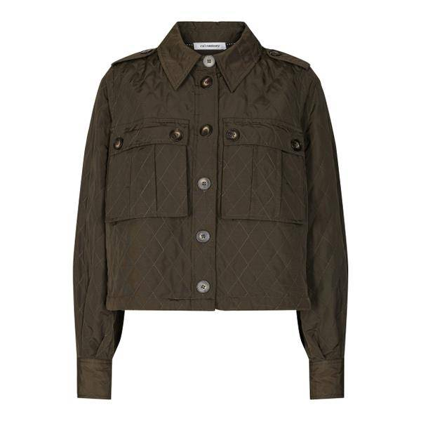 Bilde av Co'couture Ibbie Quilt Jacket Army