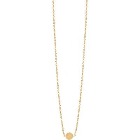 Bilde av Enamel Necklace Coin Gold