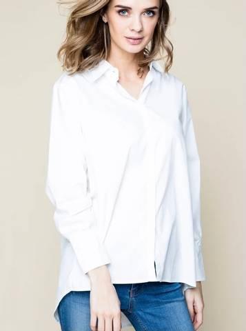 Bilde av Ella and il Lisa Shirt White