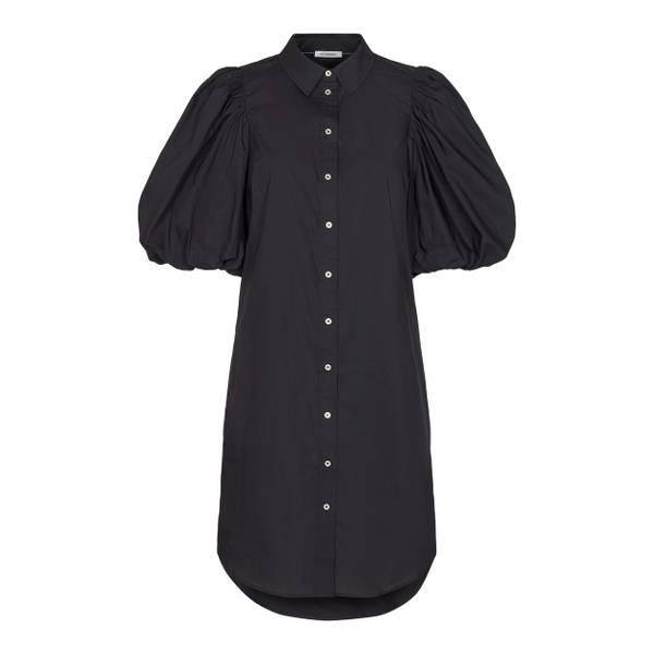 Bilde av Co'couture Collie Puff Sleeve Dress Black