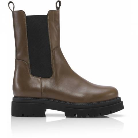 Bilde av Shoebiz Copenhagen Prima Boots Khaki
