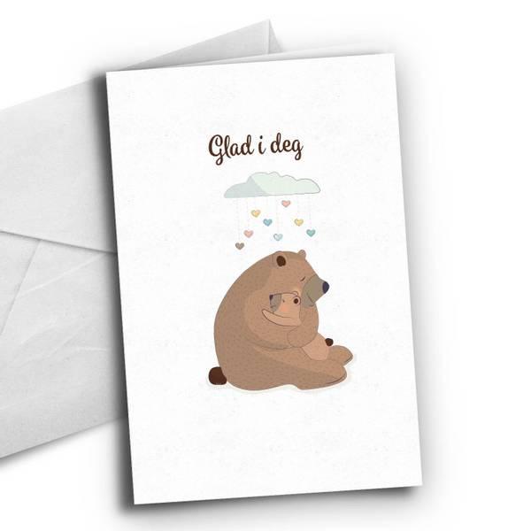 Bilde av Glad i deg - bamse