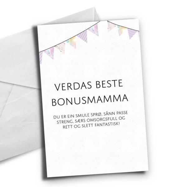 Bilde av Nynorsk Verdas beste bonusmamma