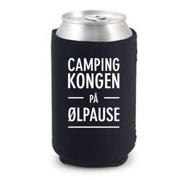 Bilde av Camping kongen på ølpause