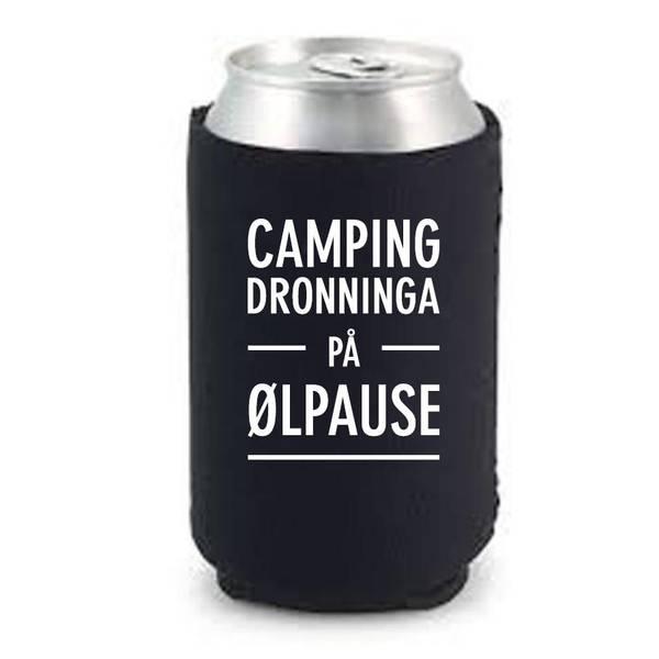 Bilde av Camping dronninga på ølpause