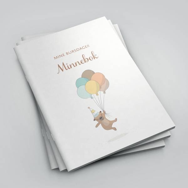 Bilde av Minnebok - Mine bursdager
