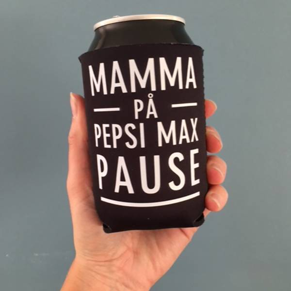Bilde av Mamma på pepsi max pause - svart