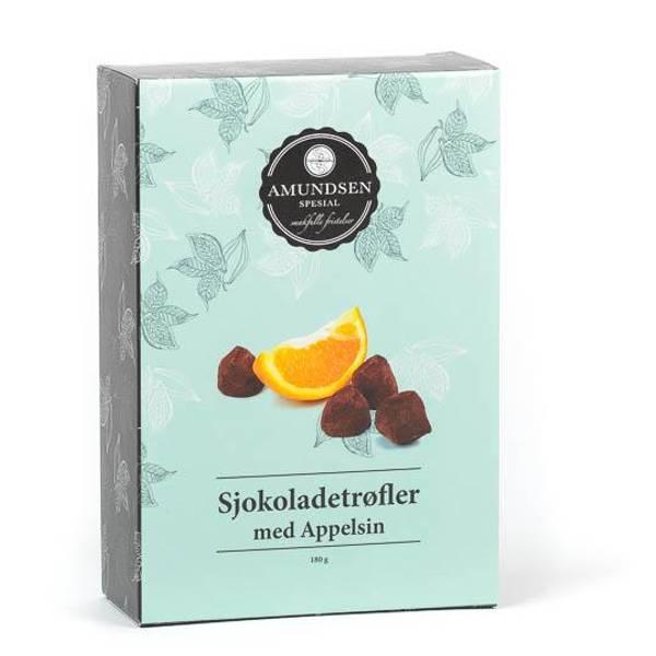 Bilde av Sjokoladetrøfler med Appelsin