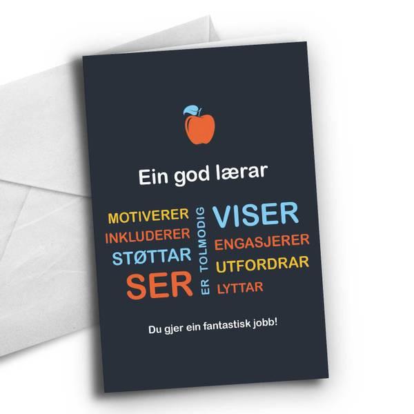 Bilde av Nynorsk: Ein god lærar