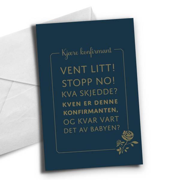Bilde av Nynorsk-Vent litt, stopp no