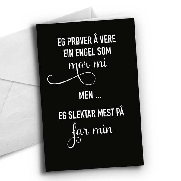 Bilde av Nynorsk: Engel-som-mor-mi