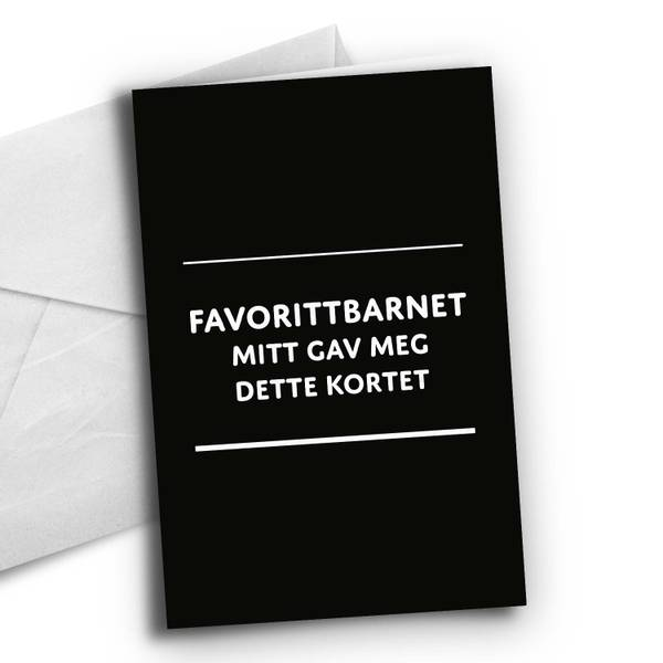 Bilde av Nynorsk: Favorittbarnet