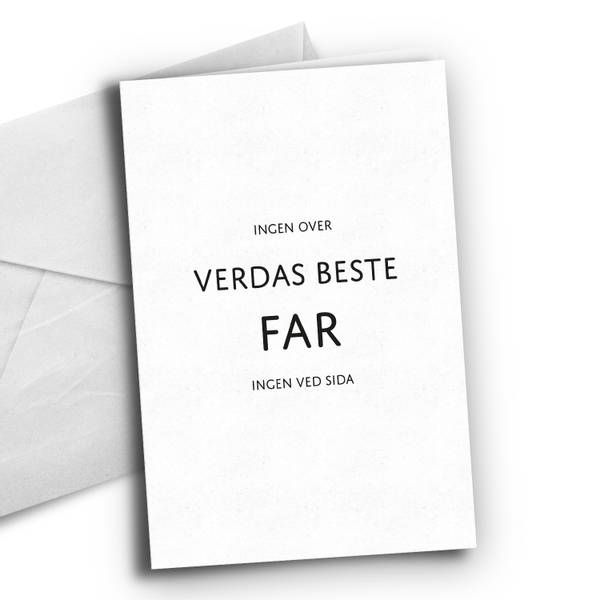Bilde av Nynorsk: Verdas beste far
