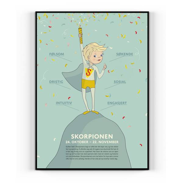 Bilde av Skorpionen gutt