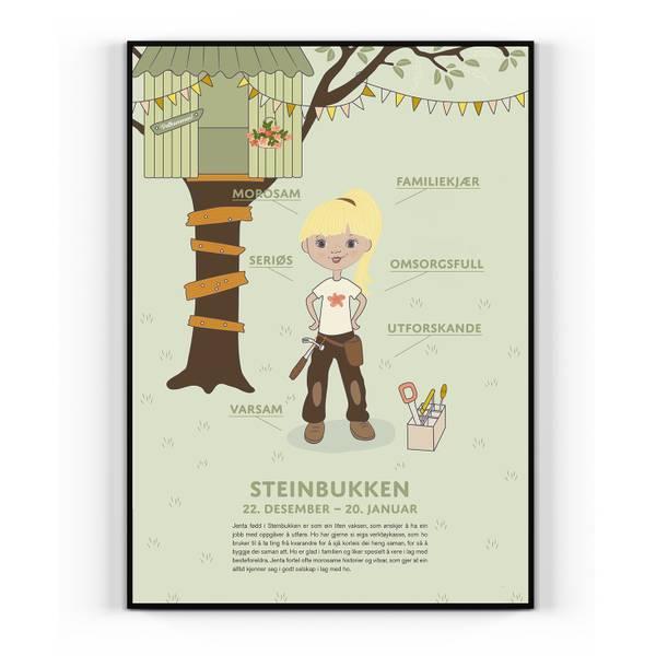 Bilde av Nynorsk Steinbukken pike