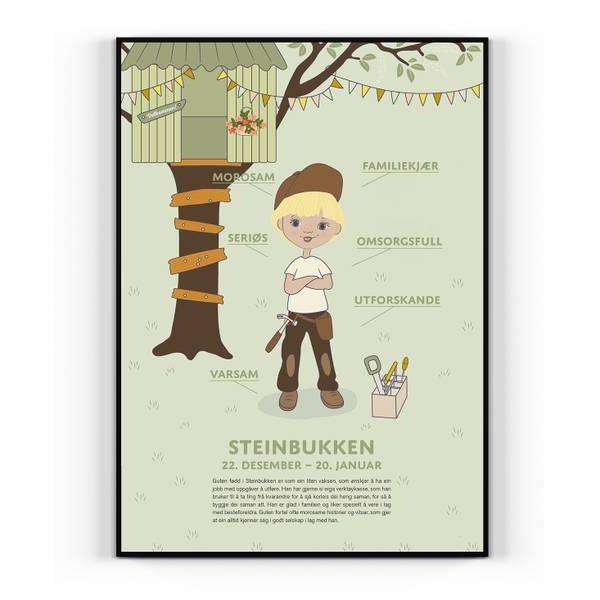 Bilde av Nynorsk Steinbukken gut