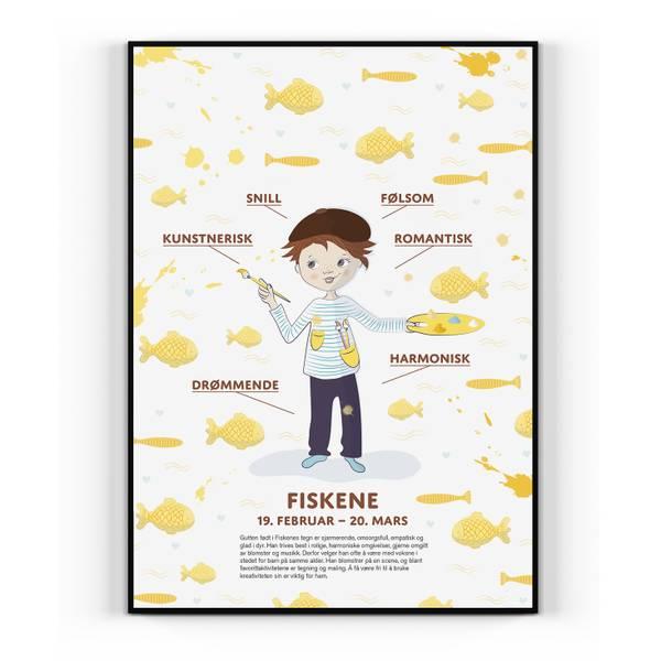 Bilde av Fiskene Gutt