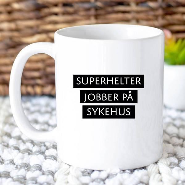 Bilde av Kopp Superhelter - sykehus