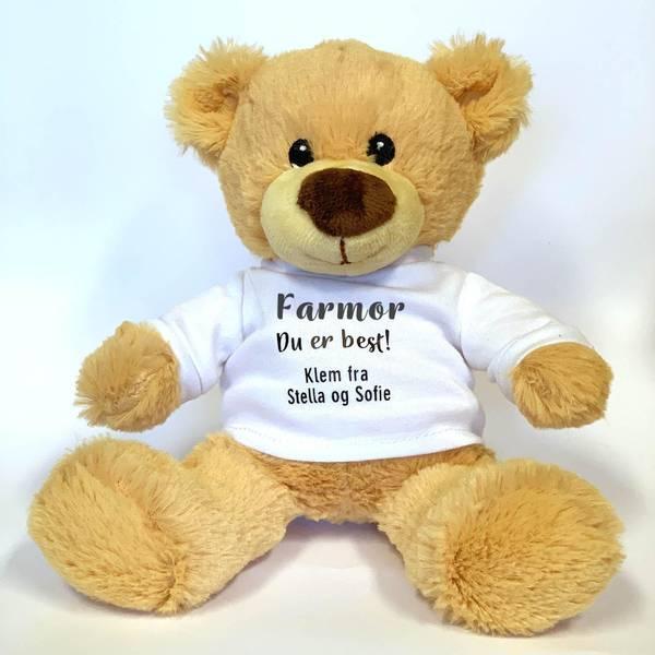 Bilde av Bamse til Farmor - du er best