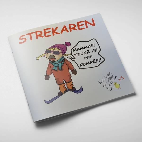 Bilde av Strekaren 2021- tegneserie om mammalivet