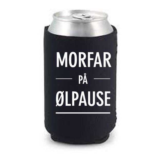Bilde av Morfar på ølpause
