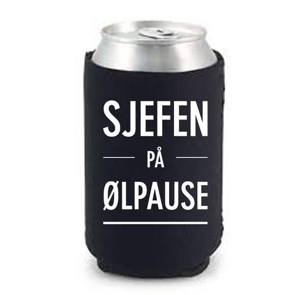 Bilde av Sjefen på ølpause