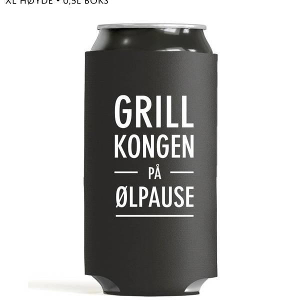 Bilde av Grillkongen på ølpause - Høy