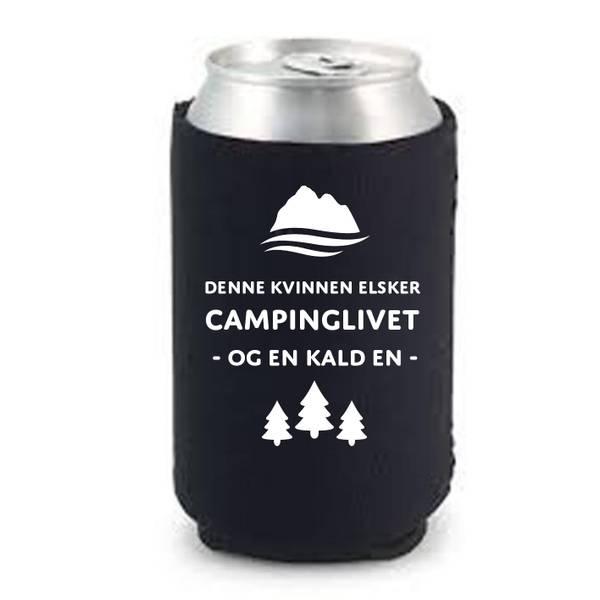 Bilde av Denne kvinnen elsker campinglivet