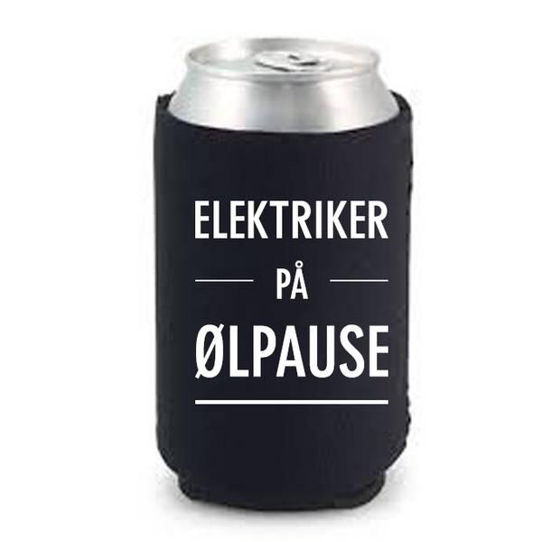 Bilde av Elektriker på ølpause