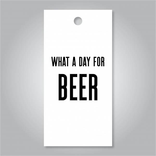 Bilde av What a day for beer