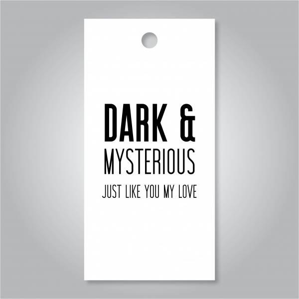 Bilde av Dark and mysterious