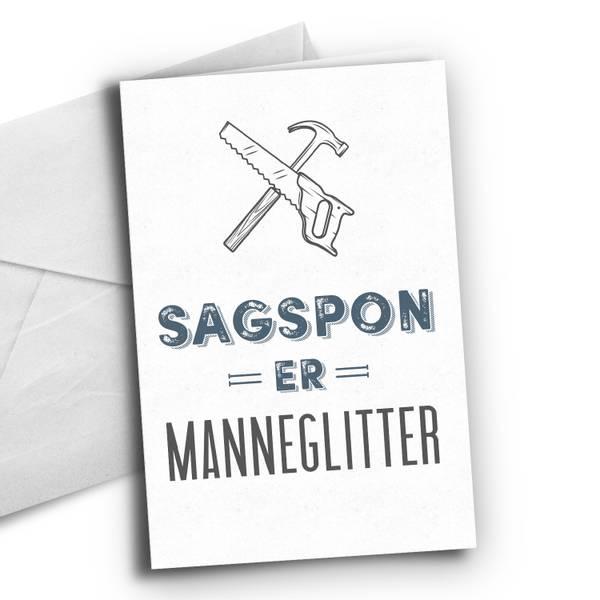 Bilde av Sagspon er manneglitter