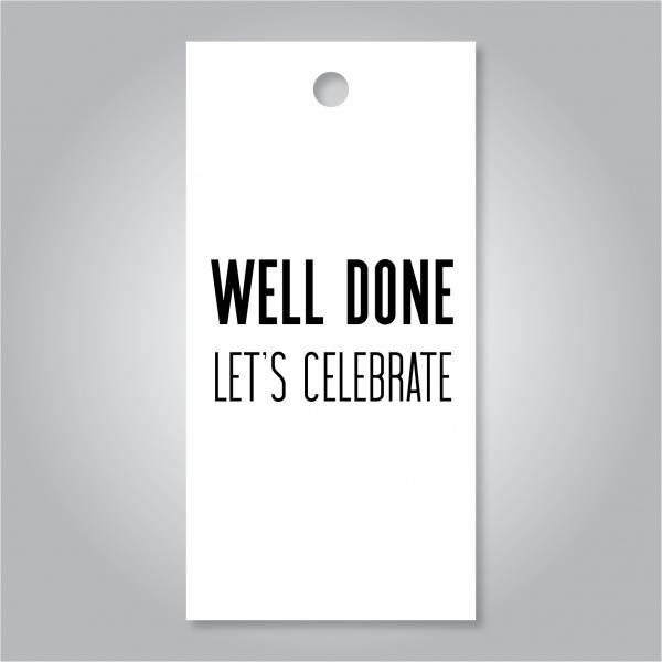 Bilde av Well done let's celebrate
