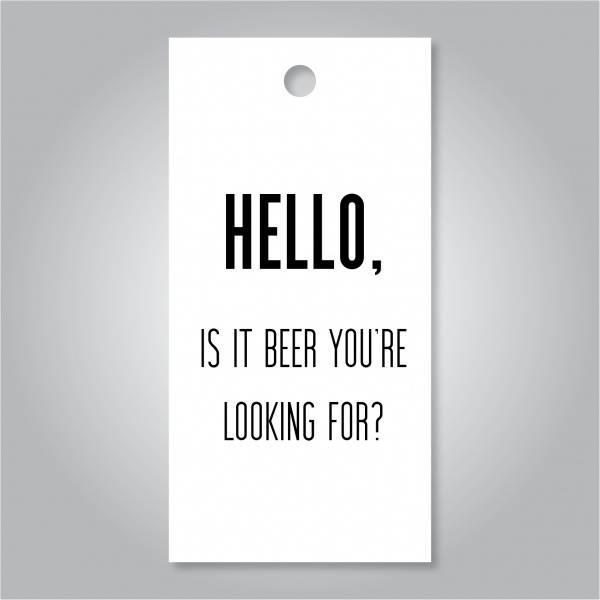 Bilde av Hello, is it beer you're looking for