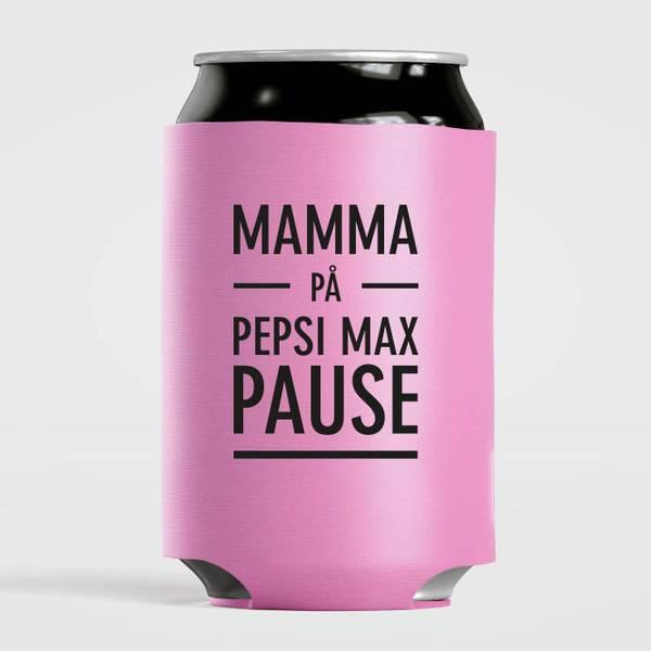 Bilde av Mamma på pepsi max pause - rosa
