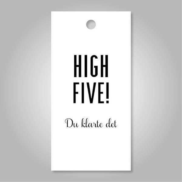Bilde av High five hvit