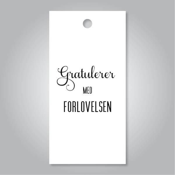 Bilde av Gratulerer med forlovelsen