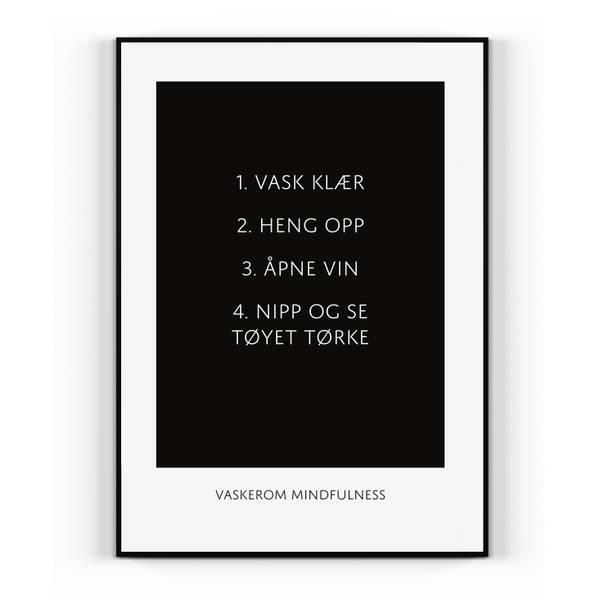 Bilde av Vaskerom mindfulness