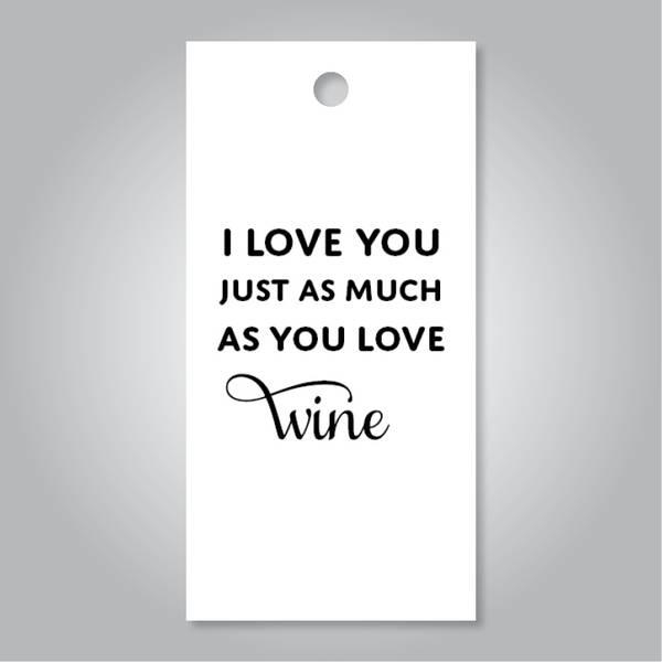 Bilde av I love you wine