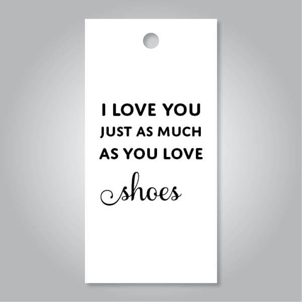 Bilde av I love you shoes
