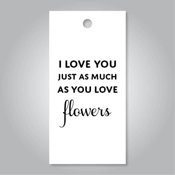 Bilde av I love you flowers