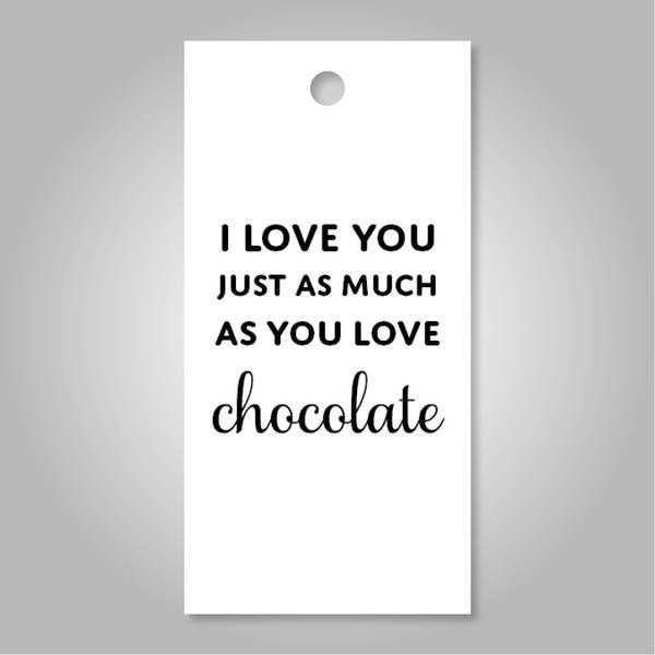 Bilde av I love you chocolate