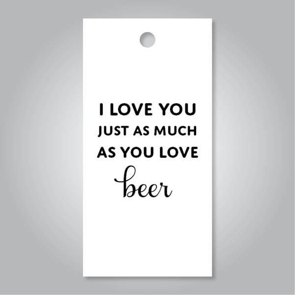 Bilde av I love you beer